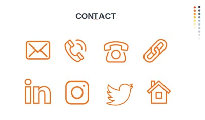 Infographic Icons - Contact