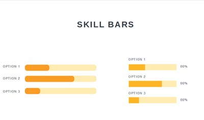 Infographic - Skill Bars