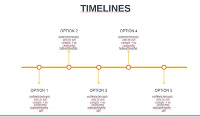 Infographic - Timelines