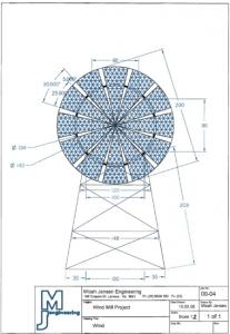 Diagram: Windmill - MJ Engineering